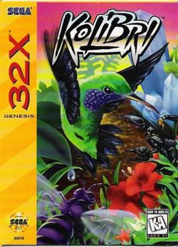 Kolibri for Sega 32X, Front Cover.jpg