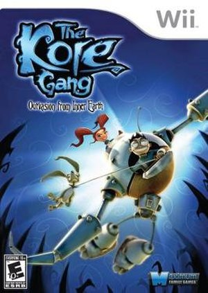 The Kore Gang - Image: Kore Gang cover