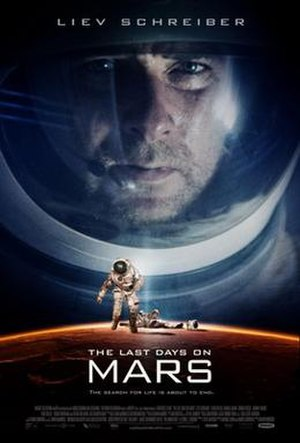 The Last Days on Mars - Theatrical release poster