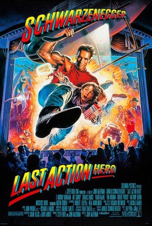 Last Action Hero - Theatrical release poster