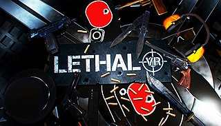 <i>Lethal VR</i> 2016 virtual reality shooter video game