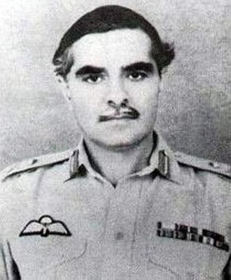 Gul Hassan Khan - As a Major-General