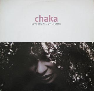 Love You All My Lifetime 1992 song performed by Chaka Khan