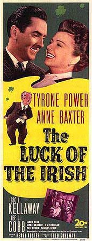 The Luck of the Irish (1948 film) - Theatrical poster