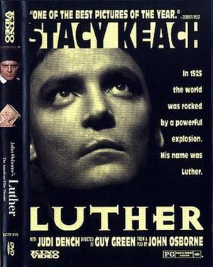 Luther (1973 film) - DVD release cover