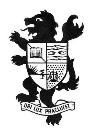 Lytton High School - Lytton High School Crest