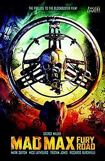<i>Mad Max: Fury Road</i> (comic book) 2015 comic series