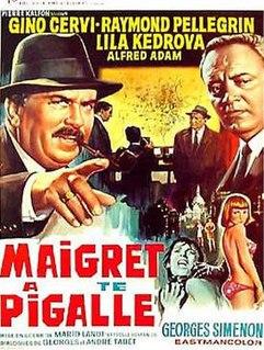 <i>Maigret a Pigalle</i> 1967 film by Mario Landi