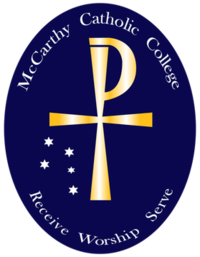 McCarthy Catholic College logo.png