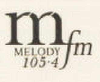 Melody 105.4 FM - Image: Melodylogo