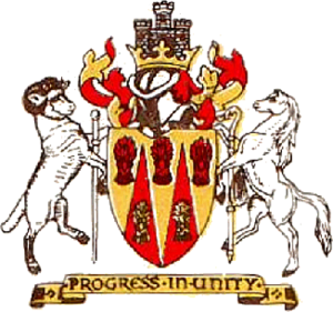 District of Monmouth - arms of Monmouth Borough Council