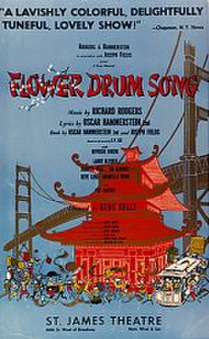 Flower Drum Song - Original Broadway poster (1958)