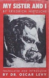 <i>My Sister and I</i> (Nietzsche)