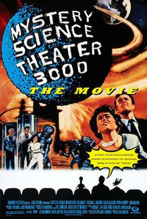 Mystery Science Theater 3000: The Movie - Theatrical release poster