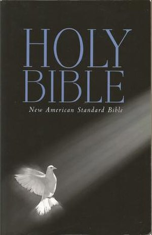 New American Standard Bible - Image: New American Standard Bible cover