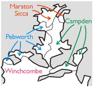 Marston Sicca Rural District