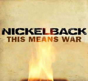 This Means War (Nickelback song) - Image: Nickelback This Means War Cover