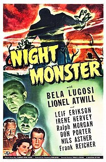 <i>Night Monster</i> 1942 film by Ford Beebe