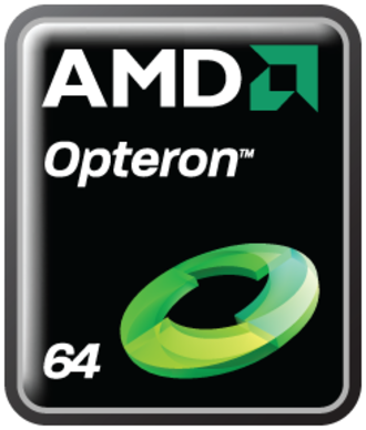 Opteron - AMD Opteron logo as of 2008