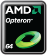 AMD Opteron logo as of 2008