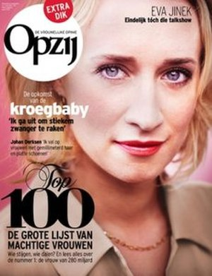 Opzij - October 2011 issue featuring Eva Jinek