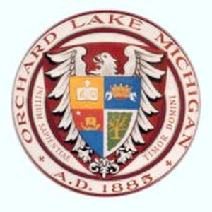 St. Mary's Preparatory - Image: Orchard Lake Seal