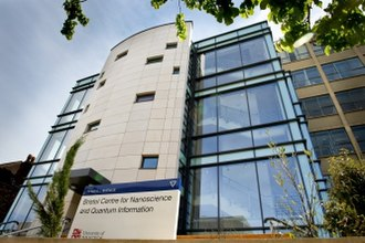 Centre for Nanoscience and Quantum Information - Outside the Centre for Nanoscience and Quantum Information, Bristol University