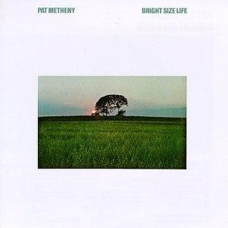 Bright Size Life - Image: Pat Metheny Bright Size Life