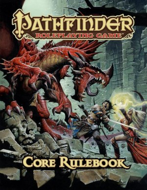 Pathfinder Roleplaying Game - Image: Pathfinder RPG Core Rulebook cover