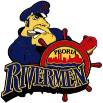 Peoria Rivermen (ECHL) - Image: Peoria rivermen echl 200x 200