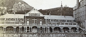 Llandudno Pier Pavilion Theatre - Detailed view of the Theatre's exterior
