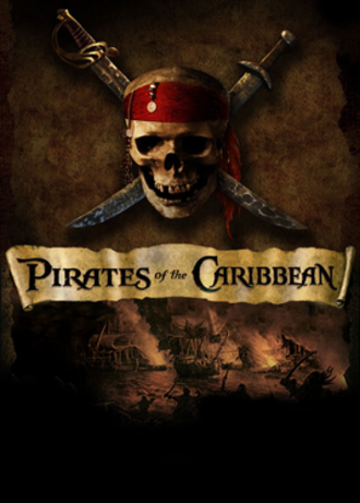 Pirates of the Caribbean (video game) - Image: Pirates of the Caribbean video game cover