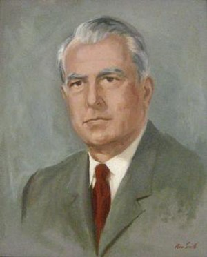 Robert Stafford - Official Vermont State House portrait