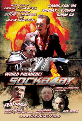 Sockbaby - Image: Poster sockb 4by