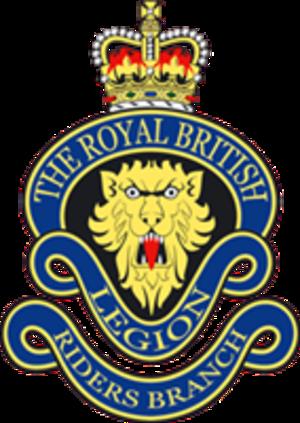 The Royal British Legion Riders Branch - Image: RBLR logo