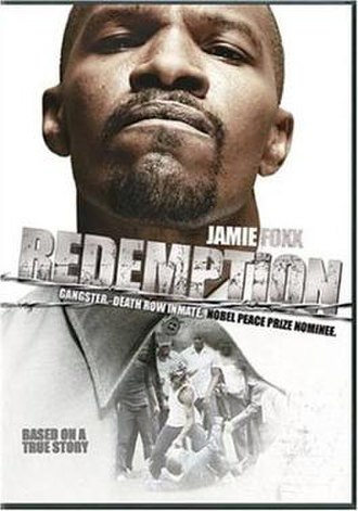Redemption: The Stan Tookie Williams Story - DVD cover