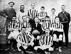 Reforma AC - Oldest picture of the club in 1901