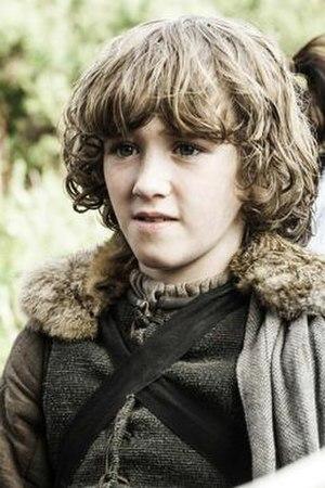 Rickon Stark - Art Parkinson as Rickon Stark