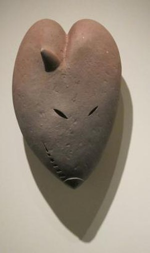 Robert David Brady - Mrs. Fox by Robert David Brady, 1981, hand-built ceramic, Honolulu Museum of Art