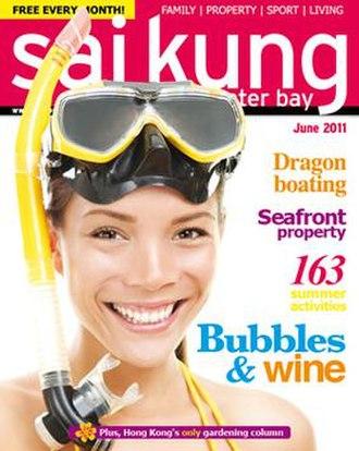 Sai Kung & Clearwater Bay Magazine - Image: Sai Kung Magazine June 2011 cover 300
