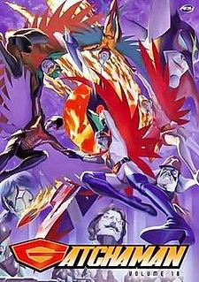 <i>Science Ninja Team Gatchaman</i> Japanese animated franchise
