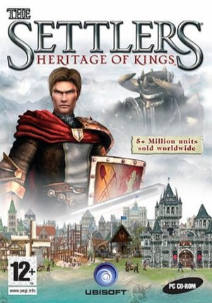 The Settlers: Heritage of Kings - European cover art