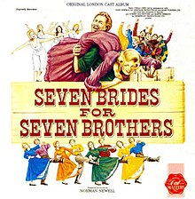 Seven Brides for Seven Brothers London recording.jpg