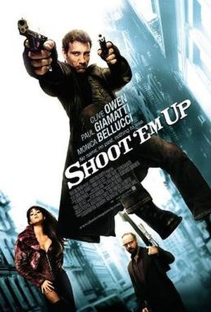Shoot 'Em Up (film) - Theatrical release poster