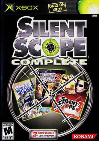 Silent Scope - Image: Silentscopecover