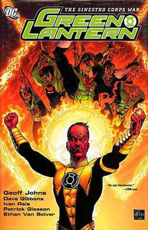 Sinestro Corps War - Image: Sinestro Corps Cover