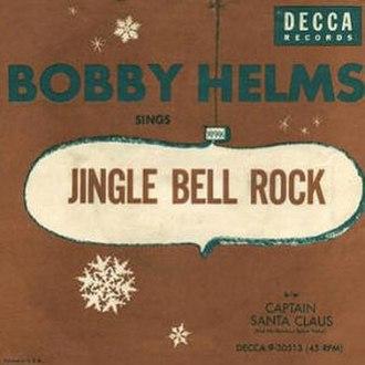 Jingle Bell Rock - Image: Single Bobby Helms Jingle Bell Rock cover