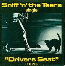 Sniff 'n' the Tears Driver's Seat single cover.jpg
