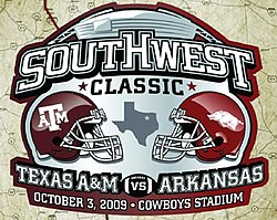 1991 – Arkansas  last game in the Southwest Conference edit  5dc7f3707