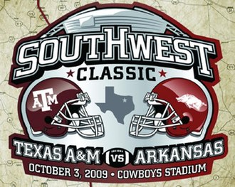 Arkansas–Texas A&M football rivalry - Image: Southwest classic